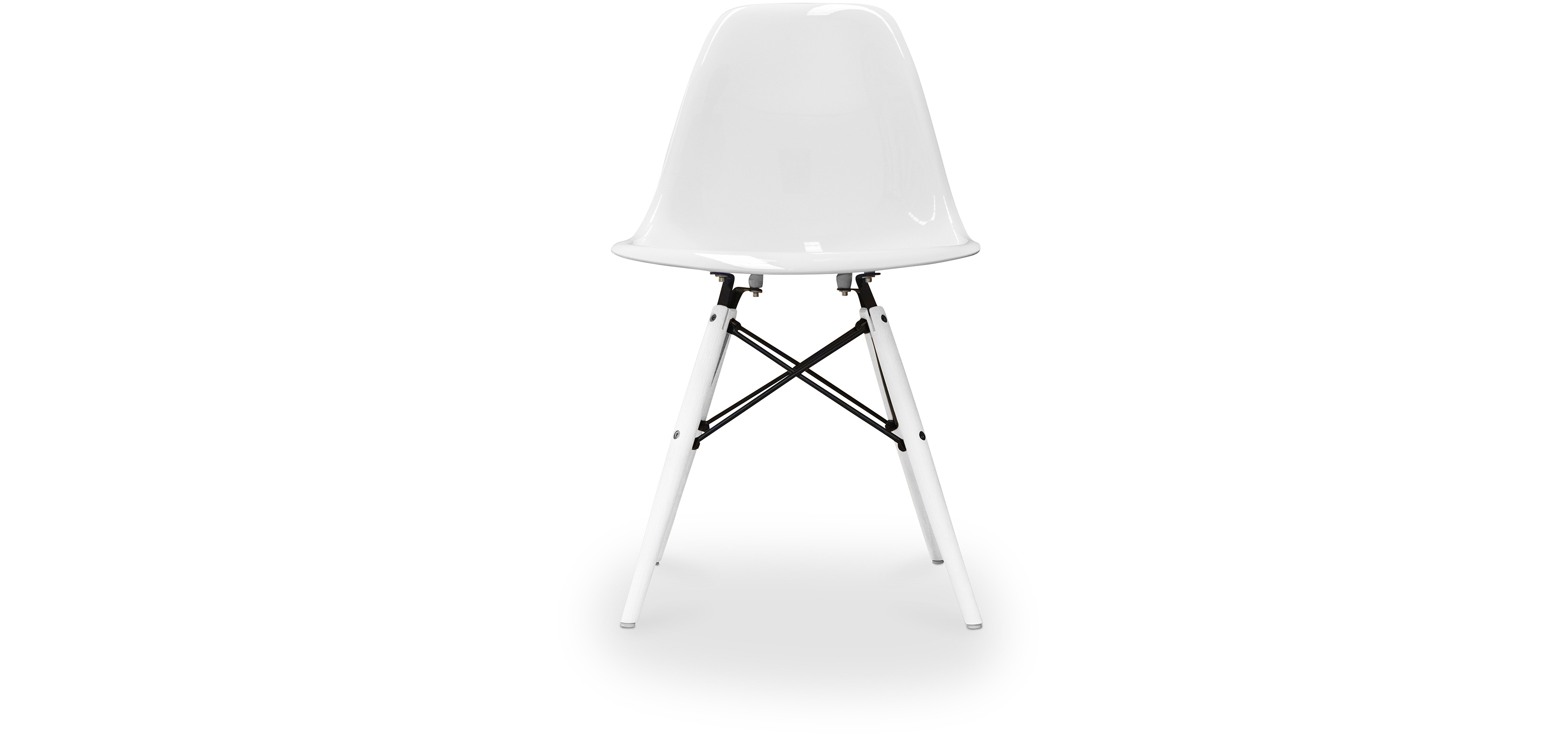 Groovy Dsw Chair Charles Eames Style White Legs Ocoug Best Dining Table And Chair Ideas Images Ocougorg