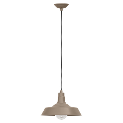 Buy Edison Colored Lampshade Pendant Lamp - Carbon Steel Brown 50878 in the Europe