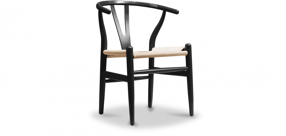 Buy Wish design chair CV24 - Natural Seat Black 16432 - in the EU