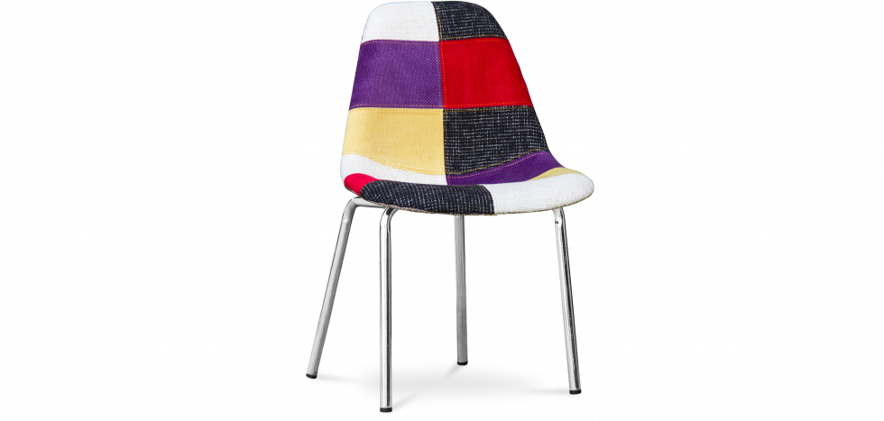 Buy Deswood chair Patchwork   - Style Multicolour 59379 - in the EU