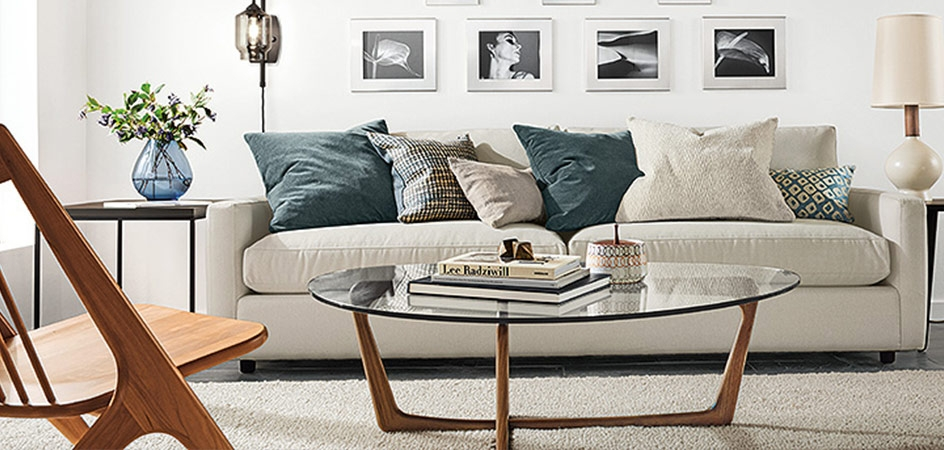Cozy Living Room Sofa with Table