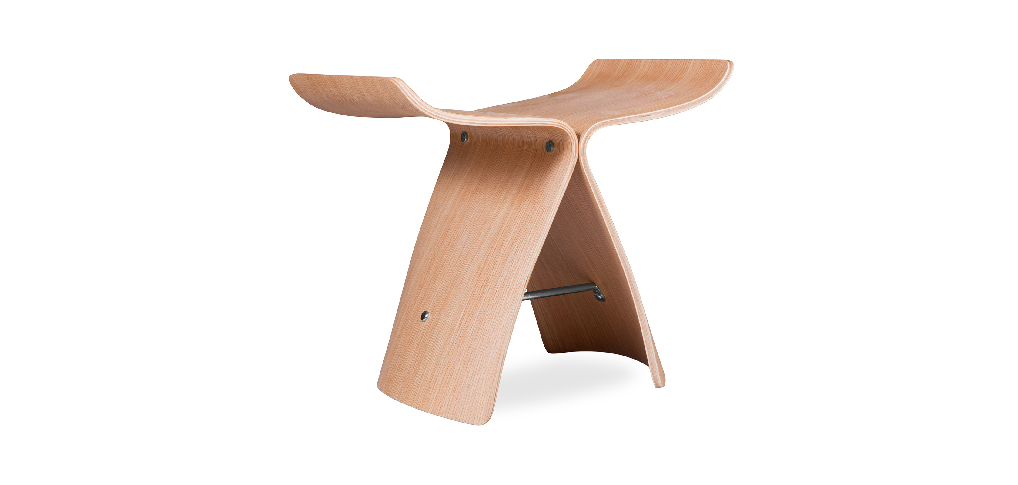 Buy Butterfly Stool Sori Yanagi Style Natural wood 16833 - in the EU