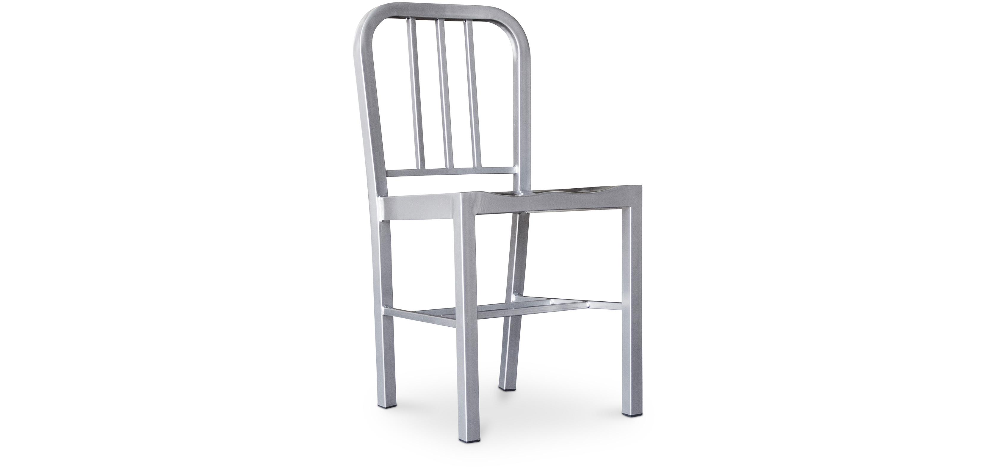 Buy Navy Style Design Chair - Steel Silver 50141 - in the EU