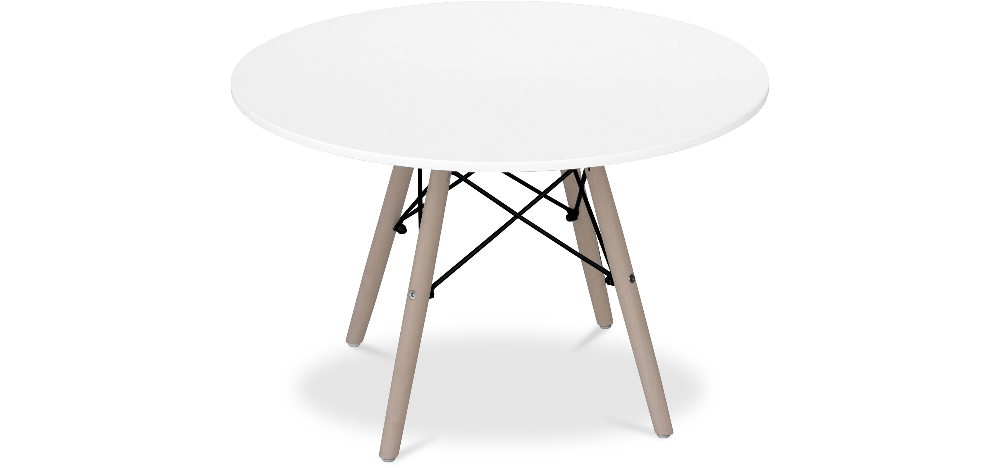 Deswood Kids Table - Wood - Upper View