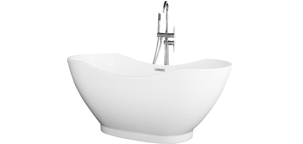 Buy White free-standing bathtub White 58301 - in the EU