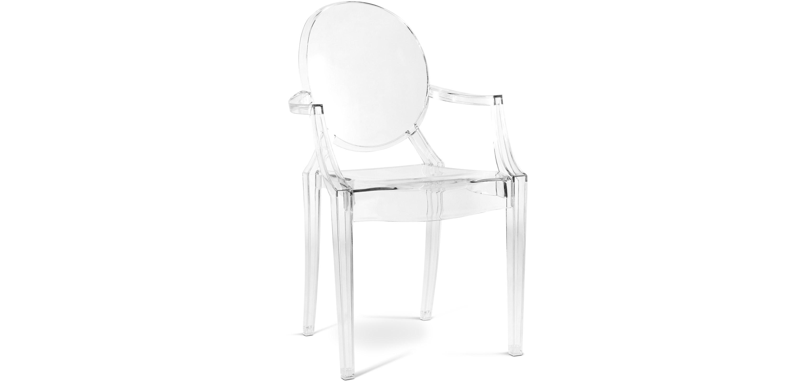 Buy Chair Louis XIV Transparent 16461 - in the EU