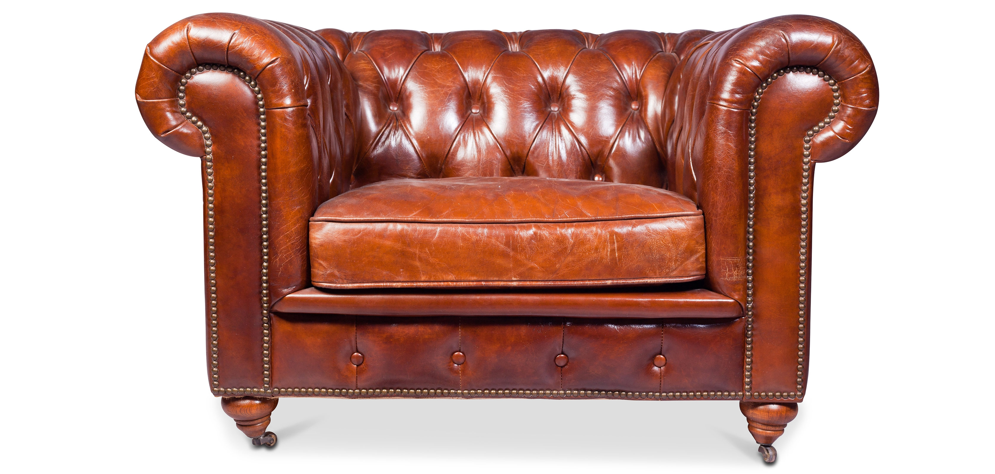 Buy Chesterfield Armchair Churchill Lounge - Premium ...
