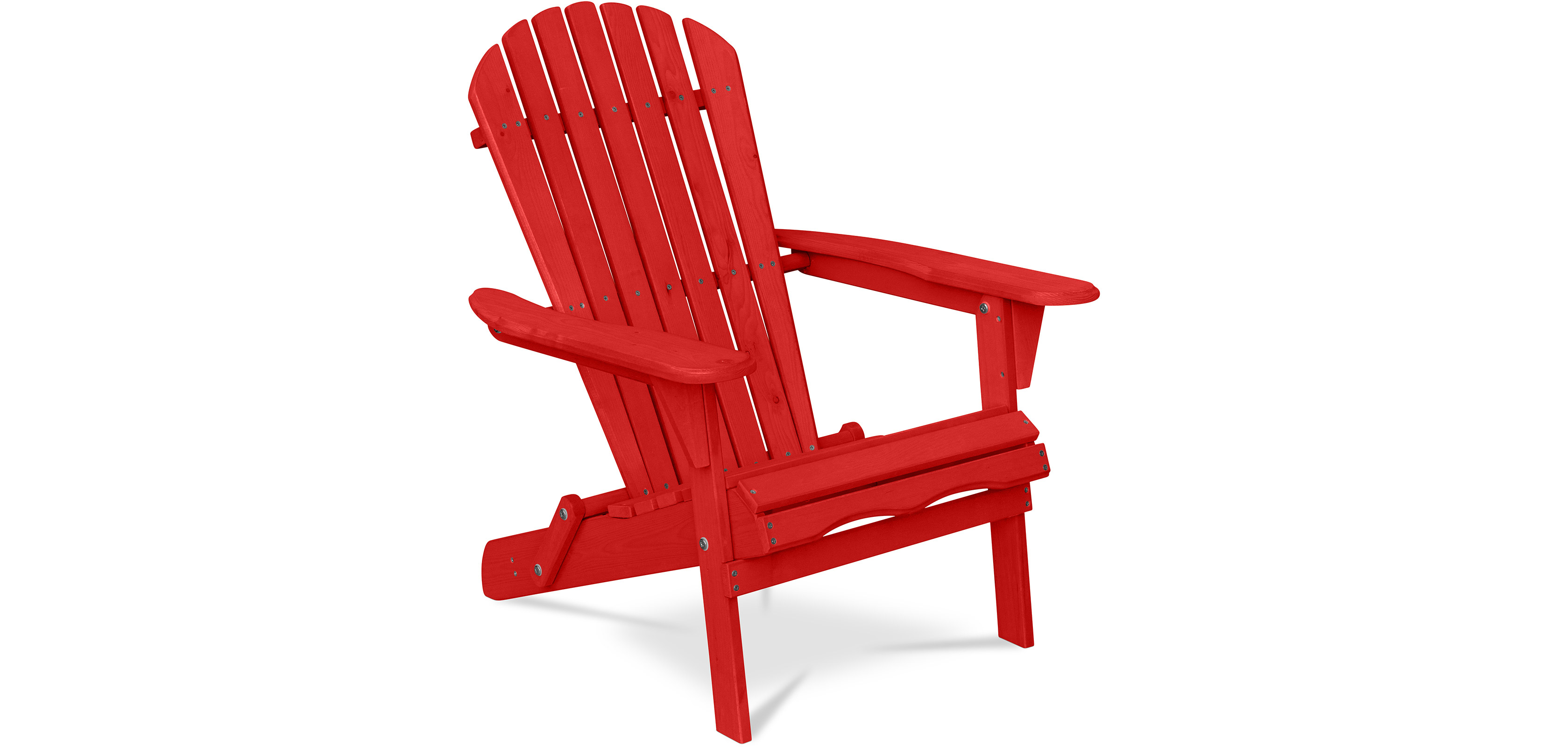 Buy Adirondack Style Garden Chair - Wood Red 59415 - in the EU